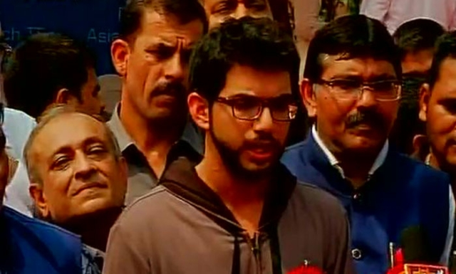 Aditya Thackeray, son of Shiv Sena chief, Uddhav Thackeray. (Photo: ANI)