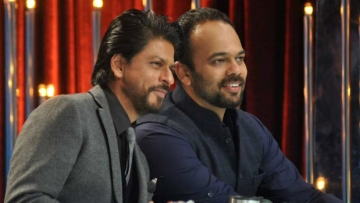 "SRK is all praises for Rohit Shetty's eye for detail (Photo: Twitter/<a href=""https://twitter.com/SRKFCI/status/616079431514206209"">@SRKFCI</a>)"