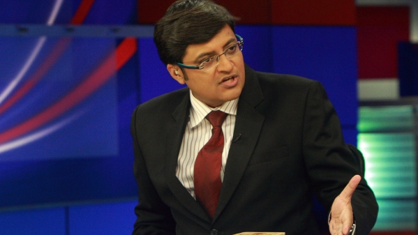 "The test broadcasts of Goswami's Republic reportedly carry the catchphrase 'We are your voice'. (Photo Courtesy: <a href=""http://www.youthkiawaaz.com/2016/03/arnab-goswami-is-good-for-indian-journalism/"">youthkiawaaz.com</a>)"