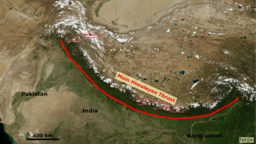 "Another earthquake in the Himalayas is&nbsp;possible. (Photo: <a href=""http://earthobservatory.nasa.gov/IOTD/view.php?id=82581"">NASA Earth Observatory</a>)"