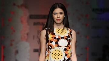 A piece from Hemant and Nandita's collection <i>You can't catch a wild flower</i>. (Photo: FDCI)