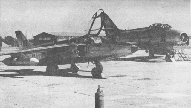 The Indian Gnat in the foreground in 1965. (Photo: BharatRakshak.com)