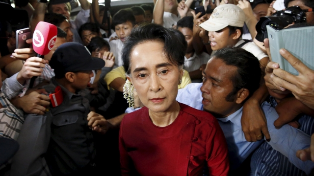Suu Kyi has no direct control over military, which remains powerful under Myanmar's constitution.