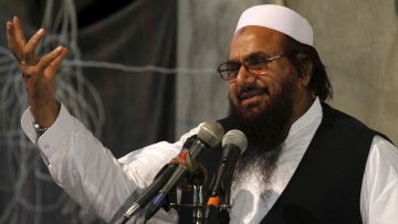 Hafiz  Saeed, Chief of  Jamaat-ud-Dawah. (Photo: Reuters)