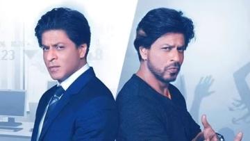"Double <i>dhamaka </i>with SRK's double role in <i>Fan</i> (Photo: <a href=""https://www.youtube.com/watch?v=pfHvU37XYzo"">YouTube</a>)"