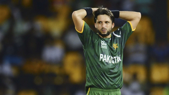 File photo of Pakistan's T20 skipper Shahid Afridi.