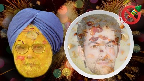 Celebrate Diwali with Zombyum – White Dish with Johnny Gaddar and Manmohan Motichur. ( Lijumol Joseph/<b>The Quint)</b>