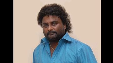 Actor and former contestant of Bigg Boss Kannada (BBK), Huccha Venkat. (Photo Courtesy: The News Minute)