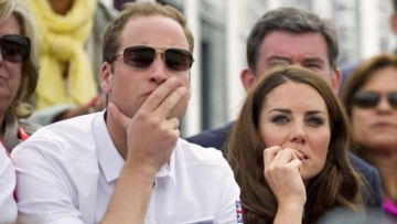 "Nail biting moment for the Duchess of Cambridge as she cheers for Team Great Britain at the 2012 Olympics (Photo: Instagram/@<a href=""http://www.gettyimages.com/"">Karwai Tang</a>)"