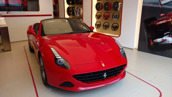 Ferrari California T. (Photo: <b>The Quint</b>)