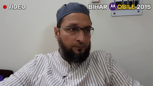 AIMIM Chief Asaduddin Owaisi, whose party is making its political debut in Bihar from Seemanchal. (Photo: The Quint)