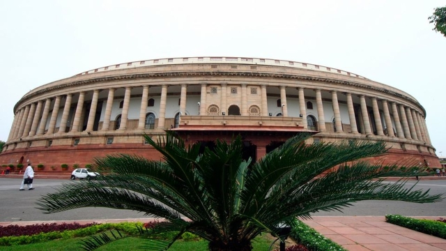 File photo of the Indian parliament building in New Delhi.