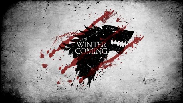 Keep a little fire burning in your heart, as they say in the <i>Game Of Thrones,</i> 'winter is coming.'