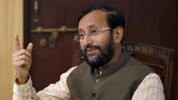 Union Environment Minister Prakash Javadekar. (Photo: Reuters)