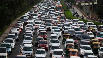 Indian roads are expected to get even more congested with 89 percent of people planning to buy a car in the next five years.