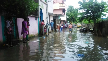 The worst flooding in a century in Tamil Nadu has left scores of people dead since November. (Photo: AP)