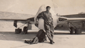 Air Marshal (Retd) Denzil Keelor in his prime during the 1965 Indo-Pak war. (Photo Courtesy: Denzil Keelor)