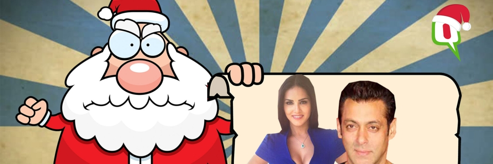 This Christmas, Sunny Leone and Salman are on Santa's
