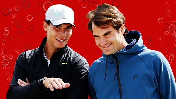 Roger Federer and Rafael Nadal will face each other live in Delhi this Saturday. (Photo: Reuters)