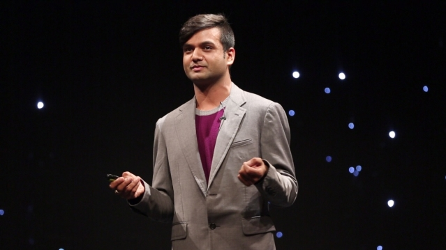 "Gautam Yadav was a speaker at the sixth edition of the <a href=""http://www.joshtalks.com/"">Josh Talks</a> event in Delhi on October 30. (Photo: <b>The Quint</b>)"