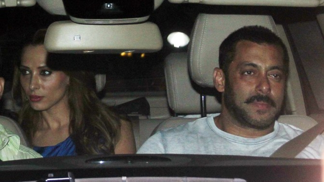 Spotted: Iulia Vantur and Salman Khan together before the Bombay High Court verdict (Photo: Yogen Shah)