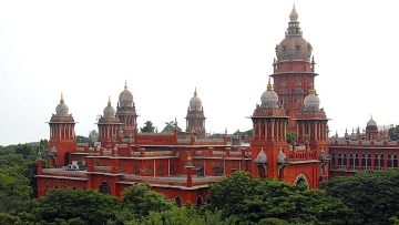 File photo of the Madras High Court.