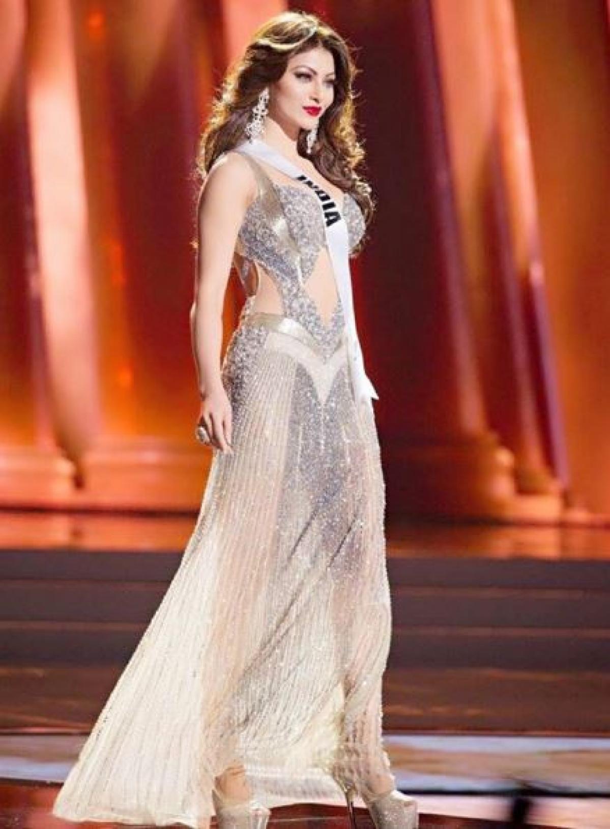 In Photos: Urvashi Rautela\'s Best Looks Miss Universe 2015 - The Quint