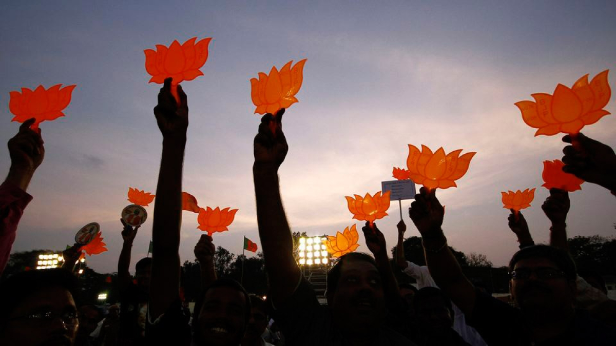 Lotus Represents God Ban Bjp From Using It Petition In Delhi Hc