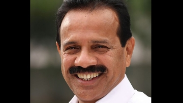 Union Minister for Law and Justice DV Sadananda Gowda. (Photo: TNM)
