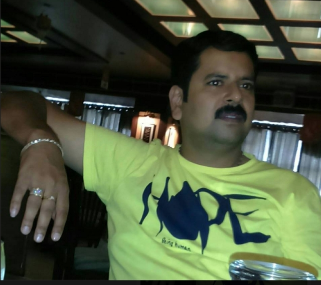 Rajesh Verma, SP Salwinder Singh's friend has verified that the Punjab cop was paid in jewels by the drug mafia. (Photo Courtesy: Rajesh Verma's facebook page)