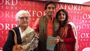 Kanishk Tharoor with his mother Tilottama Tharoor and maternal grandmother Saroj Mukherjee (Photo: Payal Mohanka)