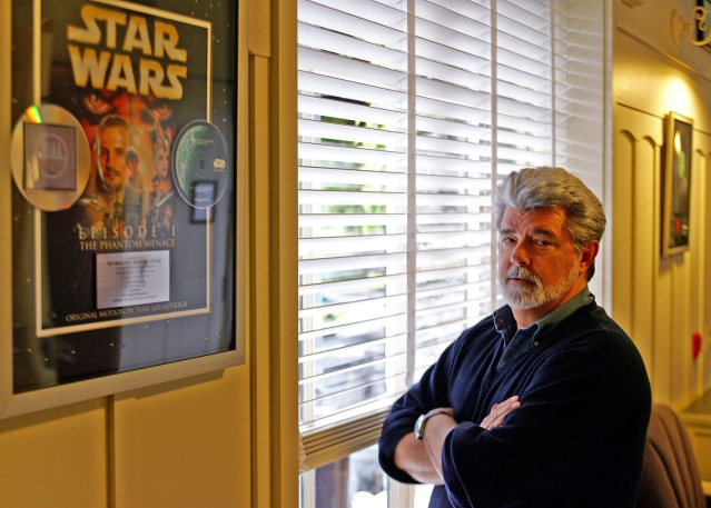 George Lucas sold his company, Lucasfilm, to the Walt Disney Co. in 2012 for $4.06 billion (Photo: AP)