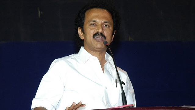 DMK leader MK Stalin dismissed Rajinikanth's statements saying there is no political vacuum in the state.