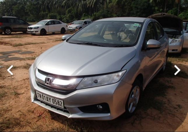 2015 Honda City For Rs.10,000, Copart.in. (Photo: TNM