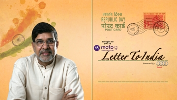 Nobel Peace Laureate Kailash Satyarthi has a message for you.