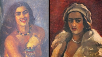Amrita Sher-Gil indulged in self-portraits from early 1930s.