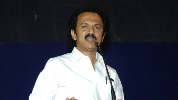 DMK leader MK Stalin. (Photo Courtesy: The News Minute)