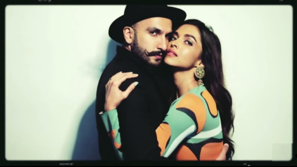 "Ranveer and Deepika pose for a Vogue photo shoot (Photo: <a href=""https://www.youtube.com/watch?v=SUqdvlxUQxw"">YouTube/vogueindia</a>)"