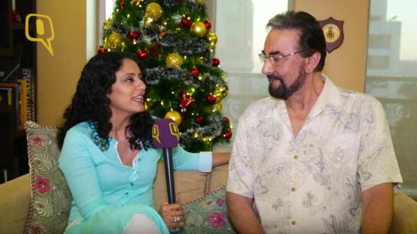 Kabir Bedi and Parveen Dusanj have been together for 10 years.