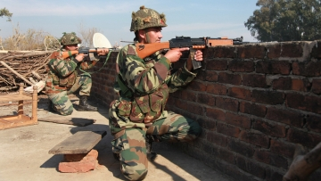 Representational image of Indian Army personnel.