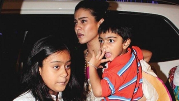 "Kajol believes that it is educative for kids to have working parents (Photo: <a href=""https://twitter.com/mobizill/status/661163289347387392"">Twitter/@mobizill</a>)"