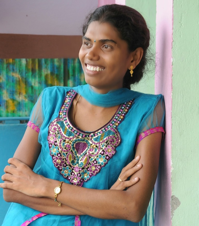 Having studied in an all boys' school, Banu could always feel she was different. (Photo Courtesy: Grace Banu)