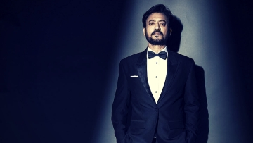 Irrfan Khan was presented the Icon Award at the London Indian Film Festival.