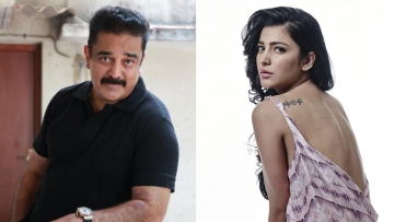 A yet-untitled Tamil project will feature Kamal and Shruti as father and daughter