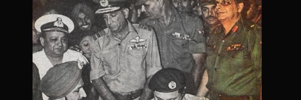 JFR Jacob, Hero of 1971 Indo-Pak War, Passes Away - The Quint