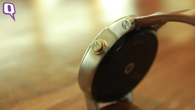 Motorola Moto 360 2nd Gen. (Photo: <b>The Quint</b>)