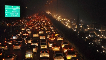 Odd-even lowered the number of cars on the roads but pollution levels were still high. (Photo: PTI)