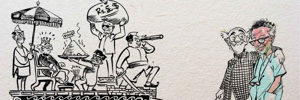 Rk laxman cartoons collection.