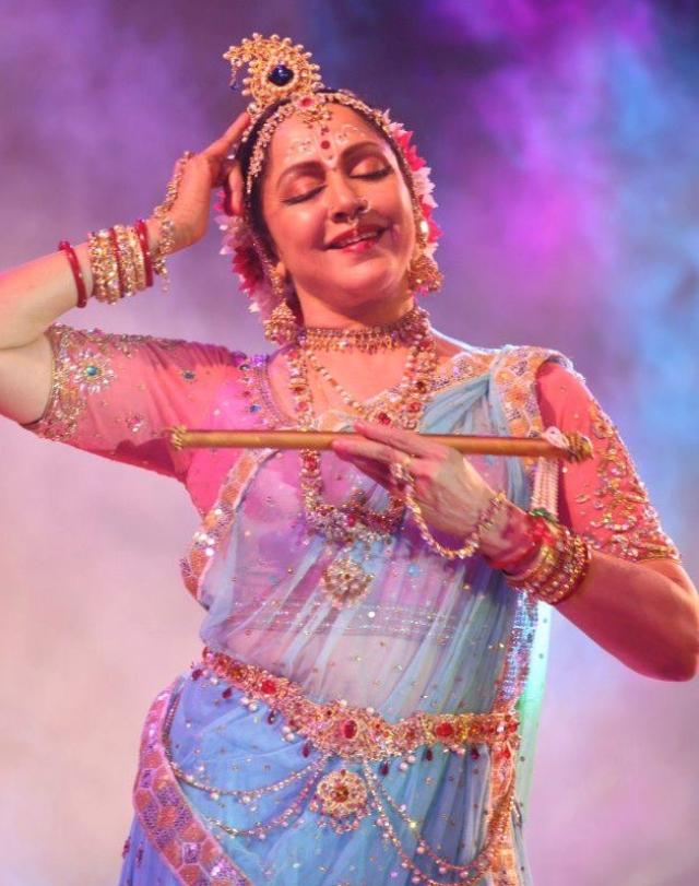 Dance for Hema Malini is devotion.
