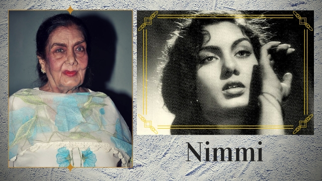 Remember Nimmi from the Dilip Kumar starrer <i>Uran Khatola</i>? (Photos: Twitter)